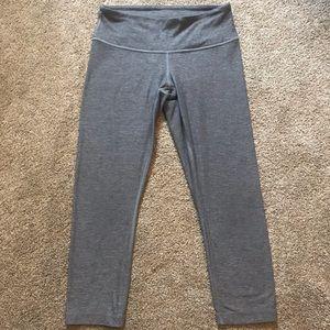 Lululemon Cropped Leggings Gray